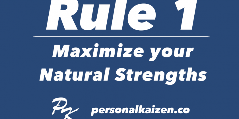 10 Rules of Life - Rule 1