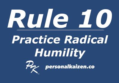 Practice Radical Humility