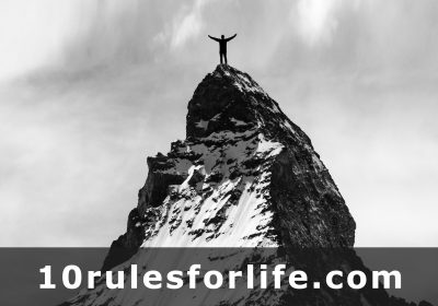 10 Rules for Life at www.10rulesforlife.com