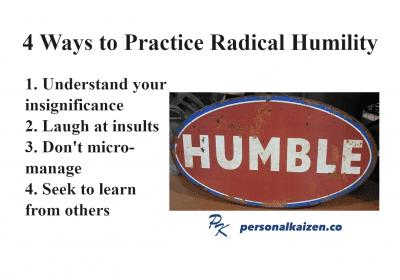 4 Ways to Practice Radical Humility
