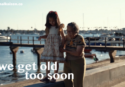 Life's Tragedy is that we get old too soon